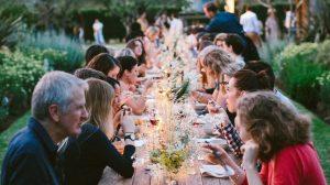 community food eating together